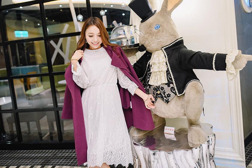 【穿搭】紐約行前許願的超美大衣&蕾絲洋裝都在Dress Culture♡