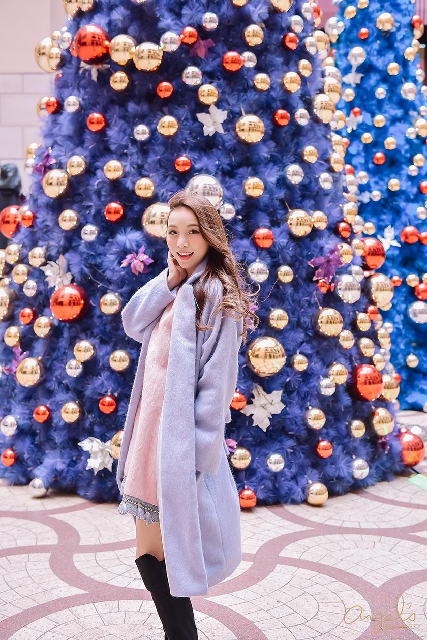 【一日穿搭】2016最IN色票穿搭❤玫瑰石英X寧靜藍的一秒惹人愛
