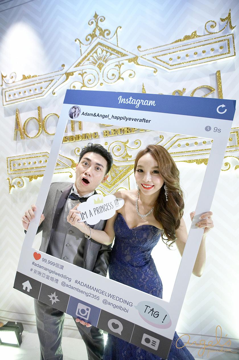 【My Wedding】讓婚禮更有趣的拍照道具&互動十足的Instagram框♡