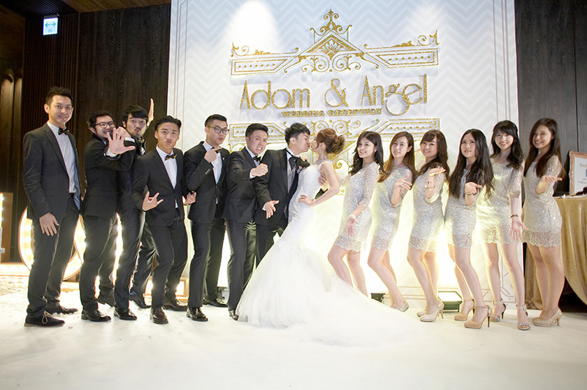【My Wedding】打造大亨小傳風的閃亮伴郎伴娘,伴娘服在這!