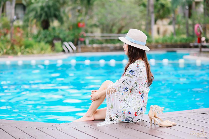 【一日穿搭】海島度假就這樣穿❤女神風流蘇洋裝