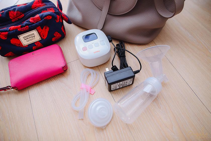 【育兒】便利的擠奶神器cimilre新貝樂F1可攜式集乳器&S3醫院級集乳器