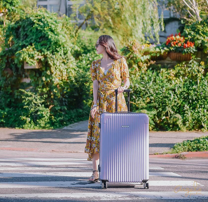 【團購】CENTURION旅行箱2017年度色❤ CAE哥倫比亞薰衣草紫-現貨50枚