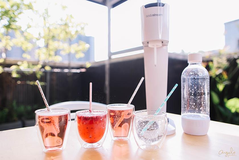 【生活】享受氣泡在舌尖跳動~Sodastream氣泡水機+丹麥Bodum雙層玻璃杯