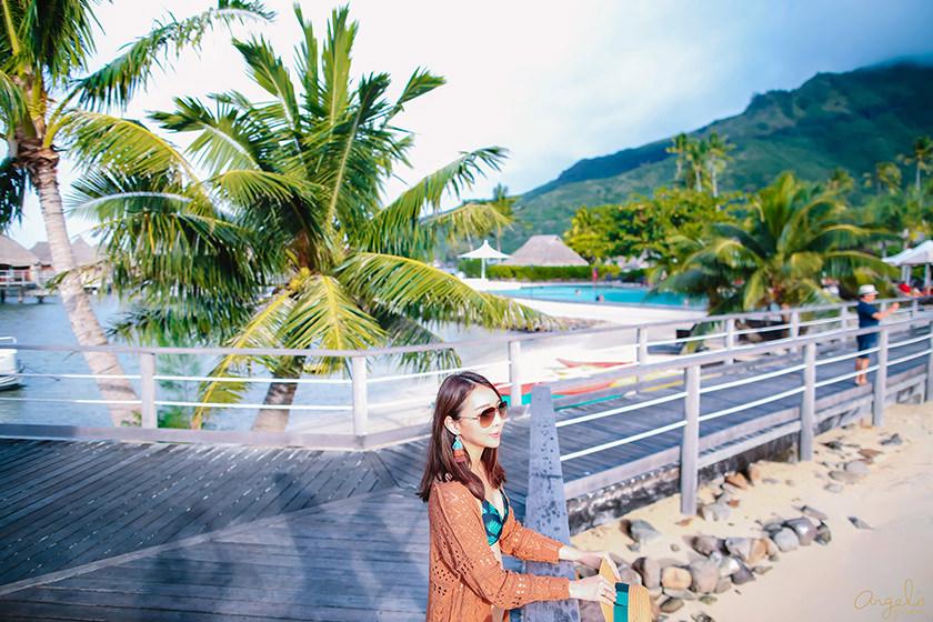 【大溪地】茉莉亞島Moorea上的寧靜度假村Manava Beach Resort & Spa