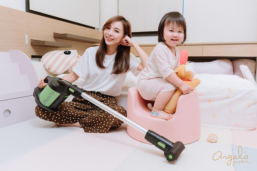 【居家】英國Gtech小綠Pro無線除蟎吸塵器改變我的生活習慣!一台解決了清潔跟除蟎問題!