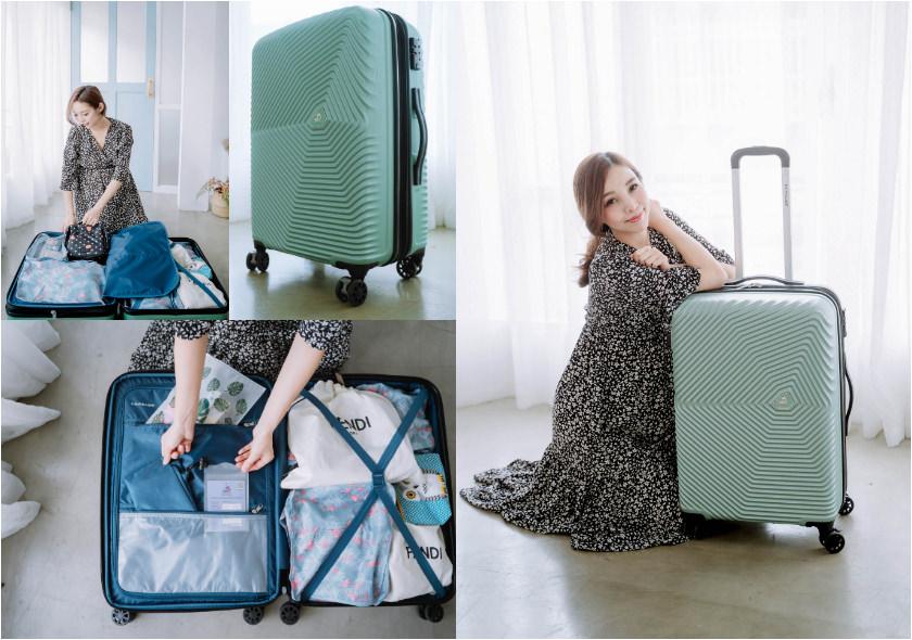 【旅行】超輕盈!流線時髦的吸睛Kamiliant KAMI 360 25吋 四輪行李箱