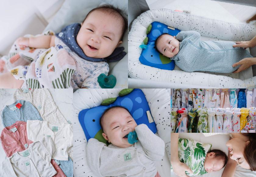 提早睡過夜的育兒神器~澳洲ergoPouch二合一舒眠包巾&史上最美紗布巾美國Little Unicorn♥