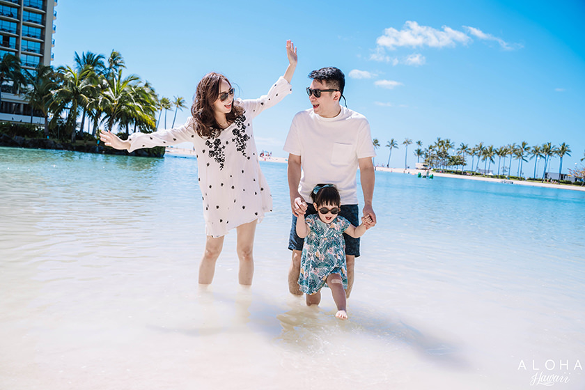 【夏威夷-親子行】DAY3很Chill的一天~泡在HILTON HAWAIIAN VILLAGE潟湖玩水&Ala Moana Center逛街