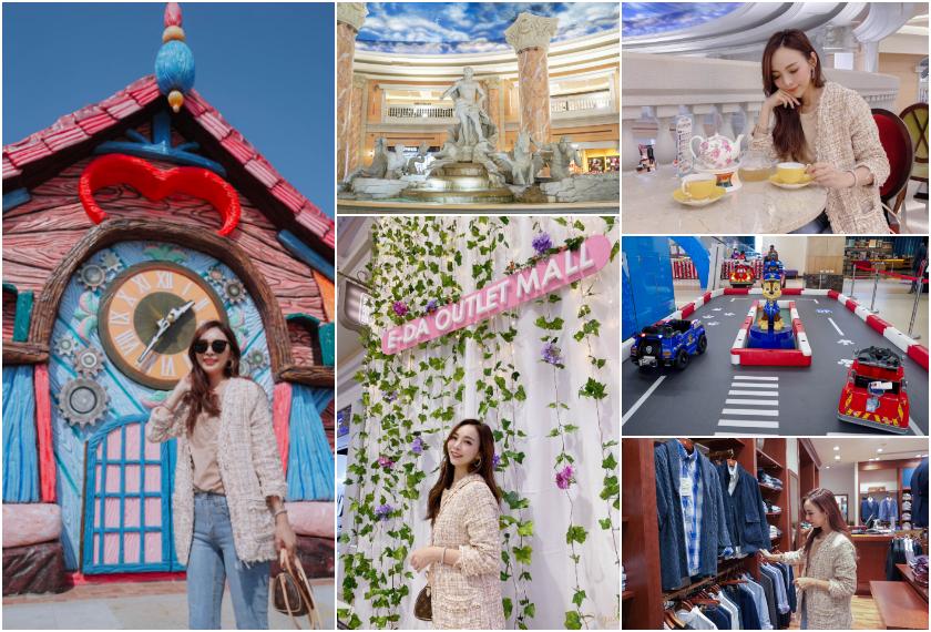 【逛街】新春秒出國的購物體驗!義大世界購物廣場最夯打卡點拍起來!