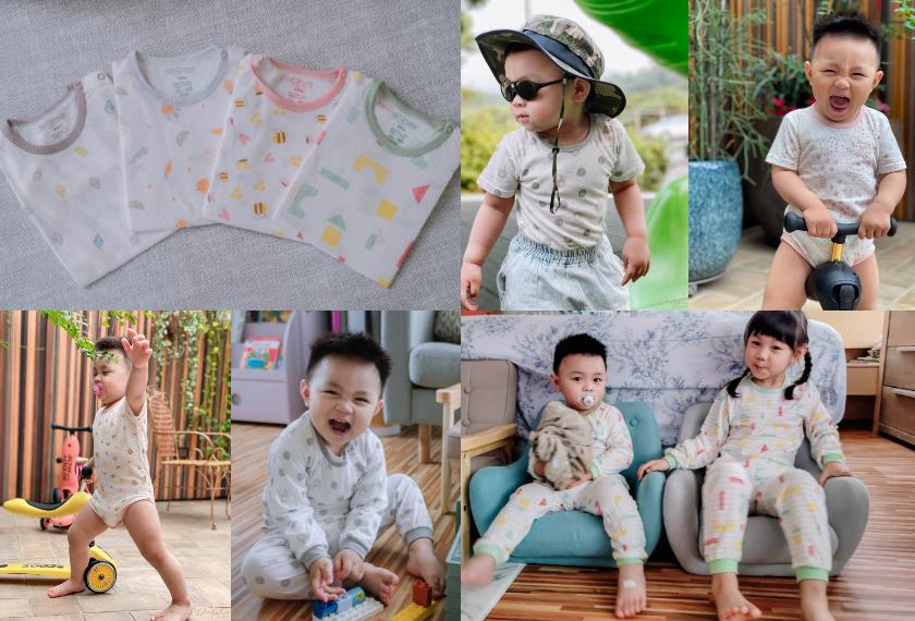 【限時搶購】米諾娃寶貝超好評~網眼包屁衣、網眼背心、春款家居服套裝