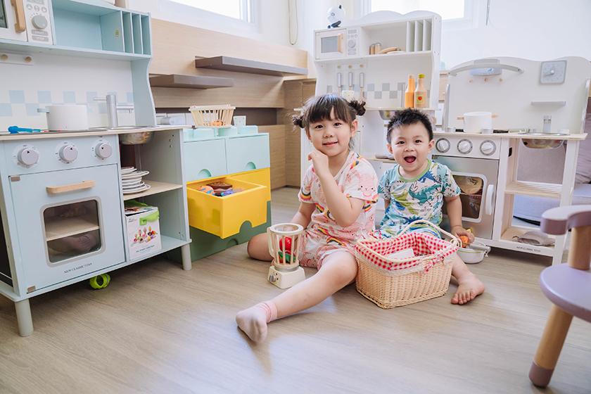 【育兒】非常夢幻的小廚房~荷蘭New Classic Toys木製玩具系列