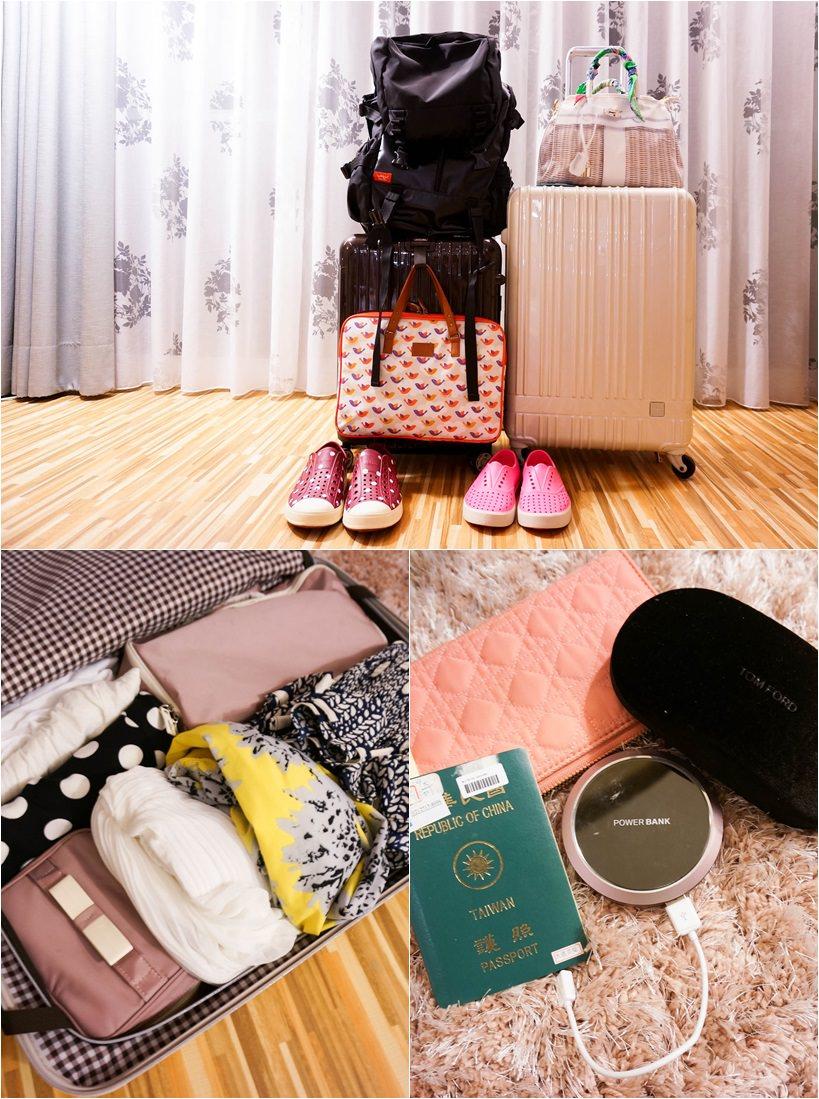 ▌行李打包 ▌輕量旅行打包術,好ㄍㄧㄣ的10kg玩七天我帶了些什麼