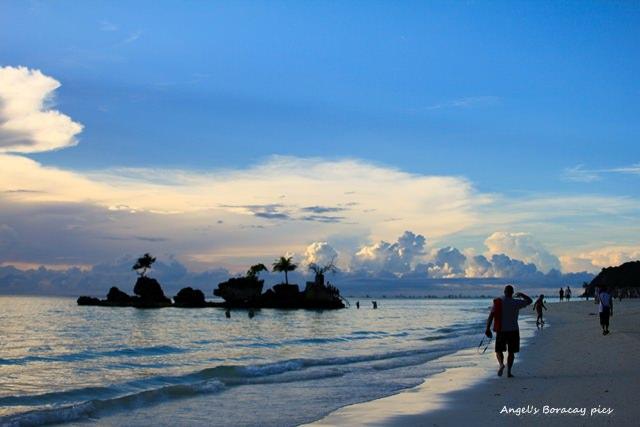 ☀自助長灘島Boracay☀島上景點【Station1】再一次欣賞美麗的麵粉白沙灘