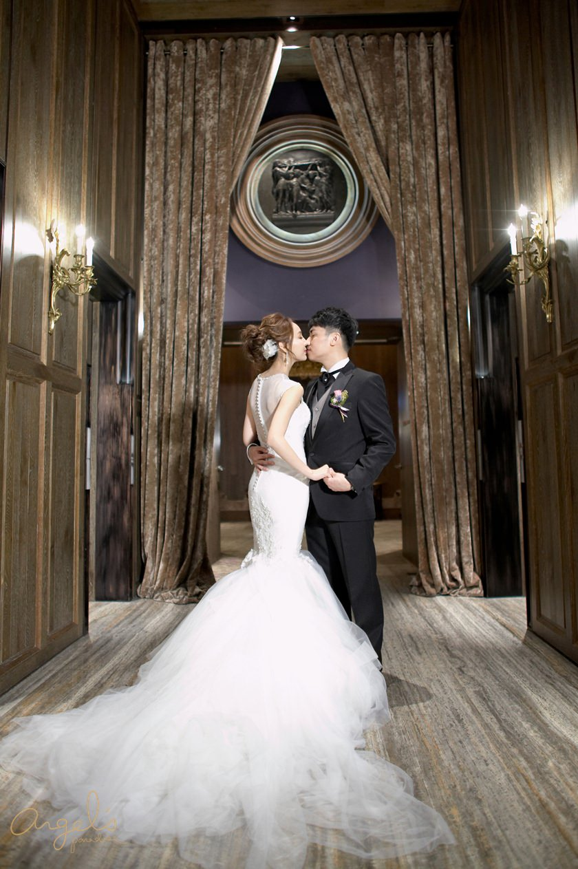 【My Wedding】從零到有,參與設計打造我的Angels婚紗♡婚禮3套禮服分享