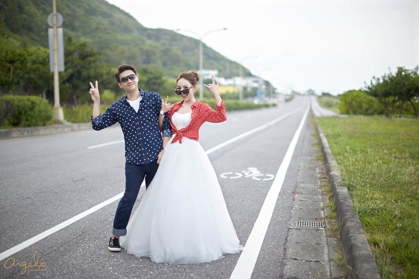 ▌婚紗 ▌邁入人妻生活,我們的2天1夜花蓮婚拍之旅♥側拍篇
